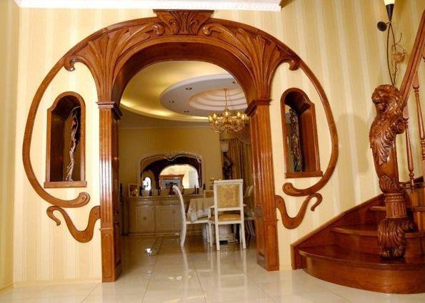 Межкомнатная арка (фото): виды, материалы, особенности монтажа