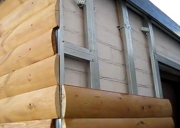 Обшить деревянный дом блок хаусом своими руками
