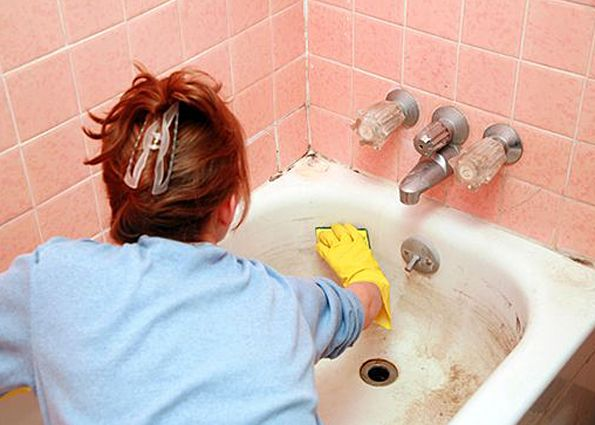 Раствор для чистки ванны своими руками 9