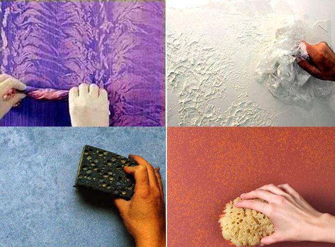 Необычная покраска стен своими руками 26