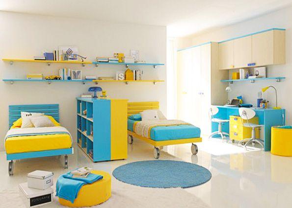 Дизайн детской комнаты для двойняшек (фото)