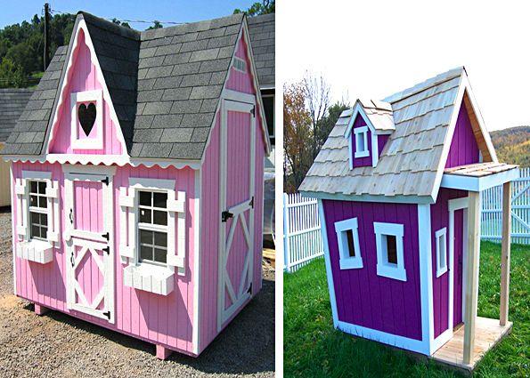 Строительство детского домика своими руками