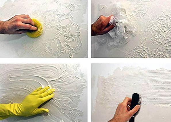 Фактурная краска: состав, преимущества и недостатки, особенности нанесения