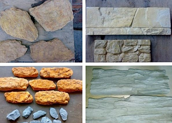 Декоративный камень из форм своими руками 476