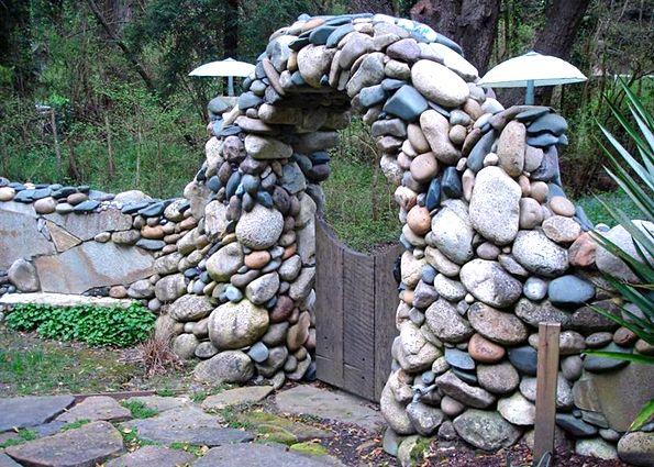 Поделки из камня дикого и булыжника в курортных местах фото 39