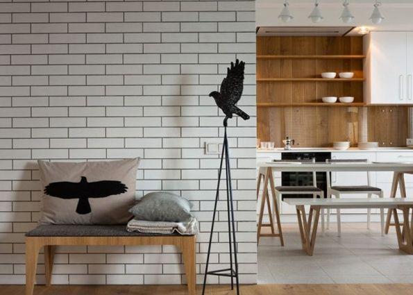 Дизайн интерьера с применением клинкерной плитки