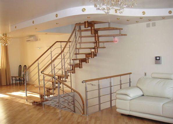 Модульные лестницы (фото): конструкция, преимущества и недостатки, виды, область применения и особенности монтажа