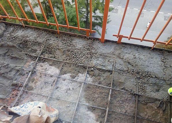 Ремонт балконной плиты своими руками