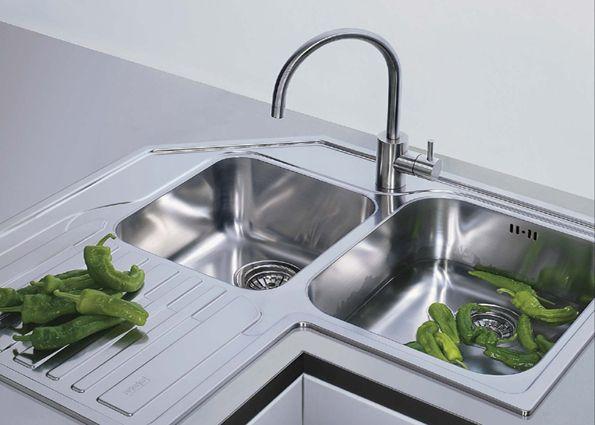 Раковины-мойки из нержавеющей стали (фото) — удобство и практичность на кухне