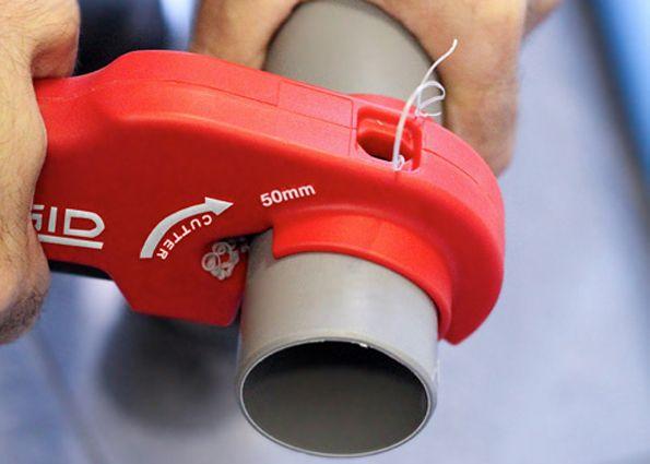 Чем резать полипропилен большого диаметра