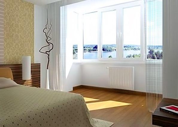 Балкон - полезная площадь и уютная комната (фото). объединен.