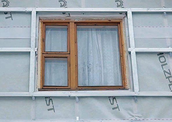 Обрешетка окна под сайдинг своими руками 16