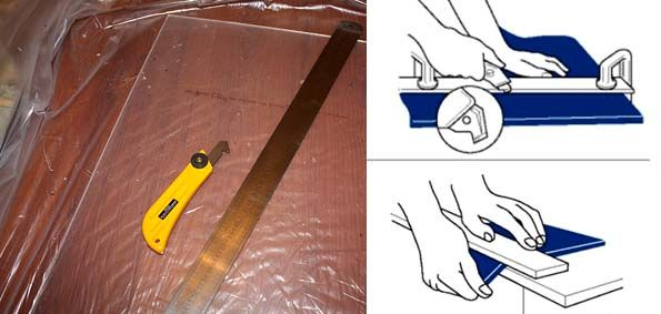 Чем разрезать оргстекло в домашних условиях