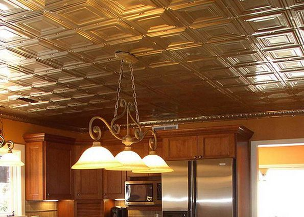 Виды потолочной плитки (фото)