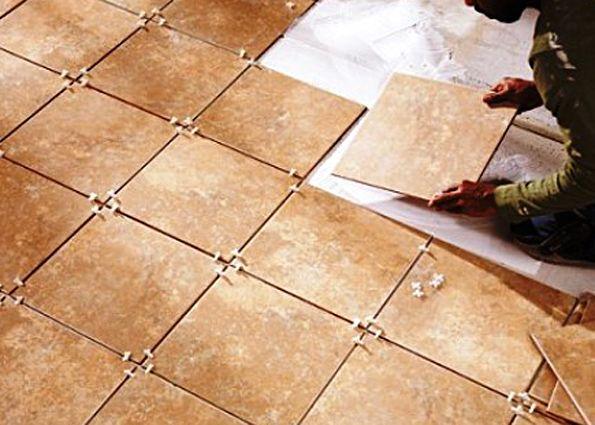 Подготовка основания и укладка напольной плитки своими руками