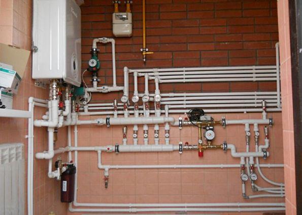 Отопление из полипропилена: преимущества, источники энергии, схемы разводки, особенности и этапы монтажа