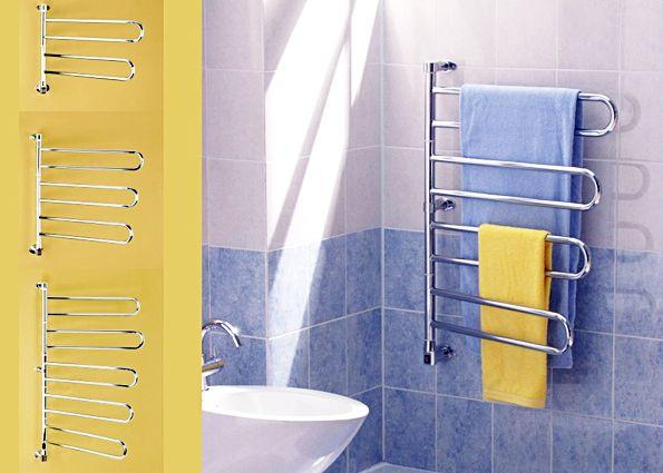 Водяные полотенцесушители: виды, преимущества, правила монтажа