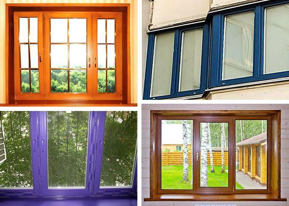 Ламинированные пластиковые окна (фото) – огромный выбор цветов и дизайнерских решений! Виды и преимущества ламинированных окон
