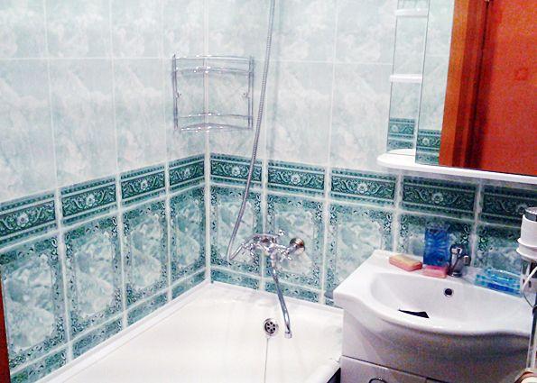 Отделка ванной комнаты пластиковыми панелями (фото)