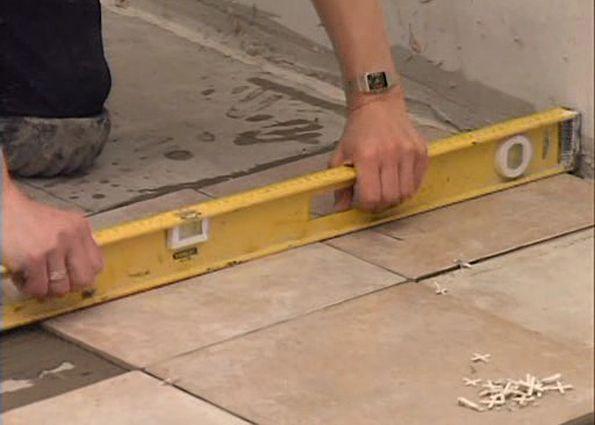 Способы укладки керамической плитки. Этапы монтажа