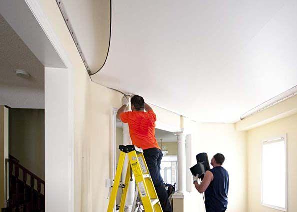 Натяжные потолки: срок службы, правила монтажа и эксплуатации, рекомендации по уходу, ремонт