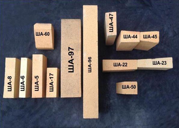 Шамотный огнеупорный кирпич: производство, марки, укладка и отличительные свойства