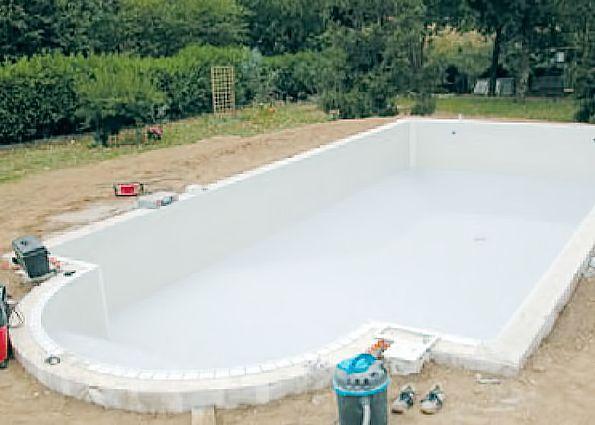 Строительство бассейна из блоков своими руками 31