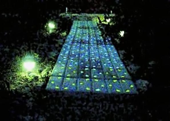 Светящаяся тротуарная плитка (фото): виды, преимущества. Светящаяся плитка своими руками