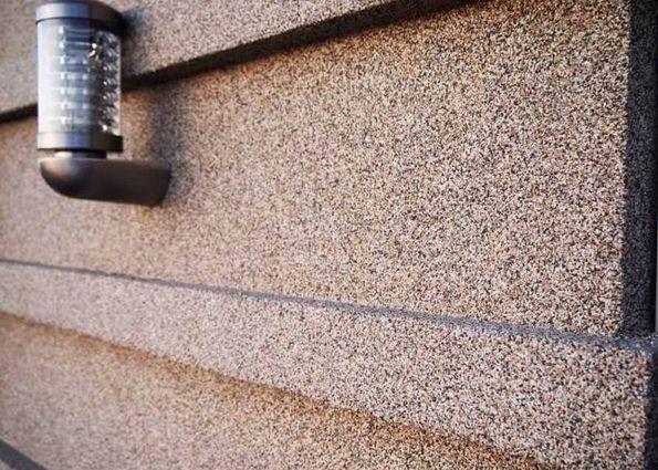 Мозаичная штукатурка (фото): преимущества, применение, особенности нанесения
