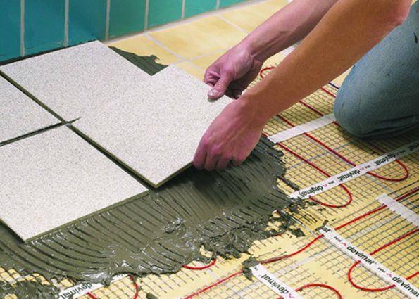 Теплый пол: помещения под теплый пол, способы монтажа кабельных конструкций, виды теплых полов, критерии выбора
