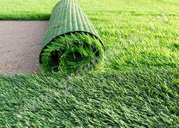 Формирование газона на полотняной основе 535