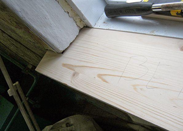 Подоконники из дерева в брусовом доме 2