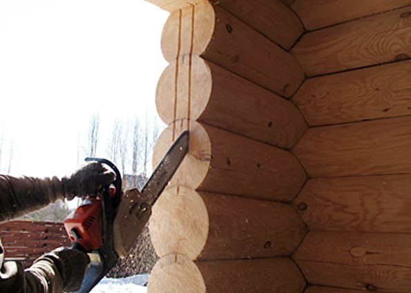 Особенности установки окон в деревянном доме
