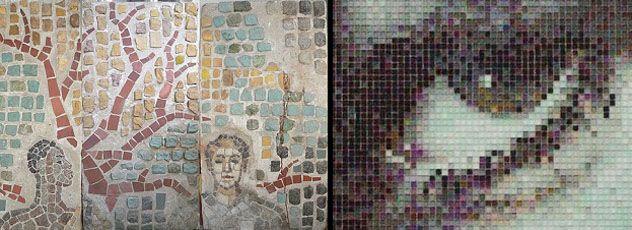 Мозаика своими руками на стену