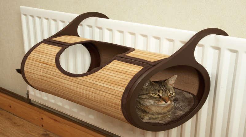 Как сделать домик для кошки своими руками фото 525