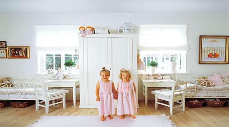 Как обустроить детскую для близнецов или двойняшек