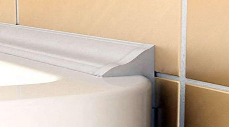 Чем заделать щель между ванной и стеной? Варианты заделки