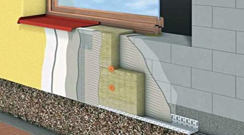 Утепление фасада: выбор материала, популярные утеплители, этапы монтажа теплоизоляции