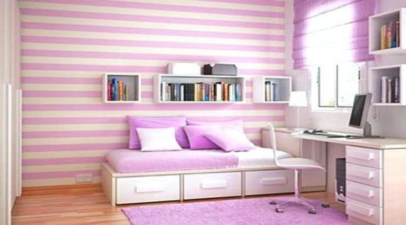 Фиолетовый цвет в интерьере: особенности оттенка, декор гостиной, детской комнаты, спальни в фиолетовых тонах, сочетание с другими цветами