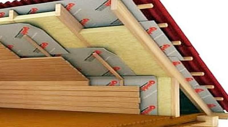 Утепление крыши изнутри: кровельный пирог, материалы, особенности монтажа, рекомендации
