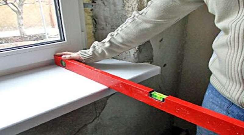 Установка (замена) подоконника: используемые материалы, особенности монтажа подоконников из различных материалов