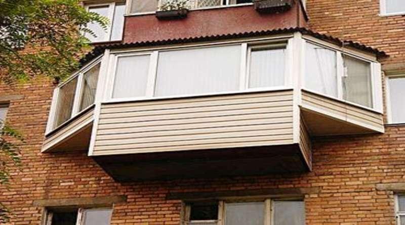 Виды остекления балконов: холодное и теплое остекление, французская конструкция, балкон с выносом, алюминиевая конструкция