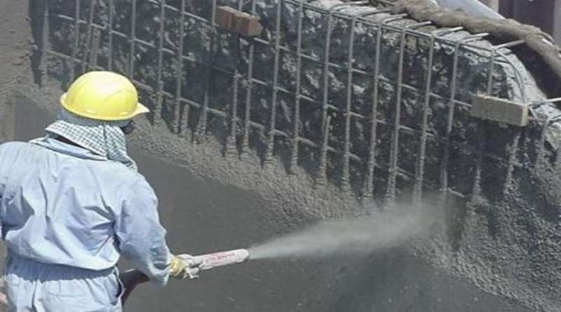 Торкрет бетон: виды технологий, область применения, торкретирование своими руками