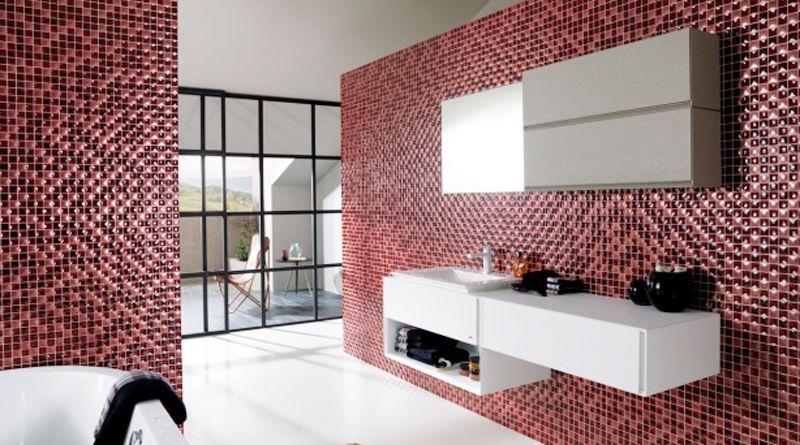 Мозаичная плитка: область применения, особенности укладки