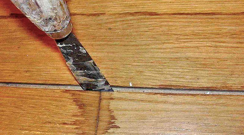 Ремонт паркета своими руками: царапины, скрип, щели