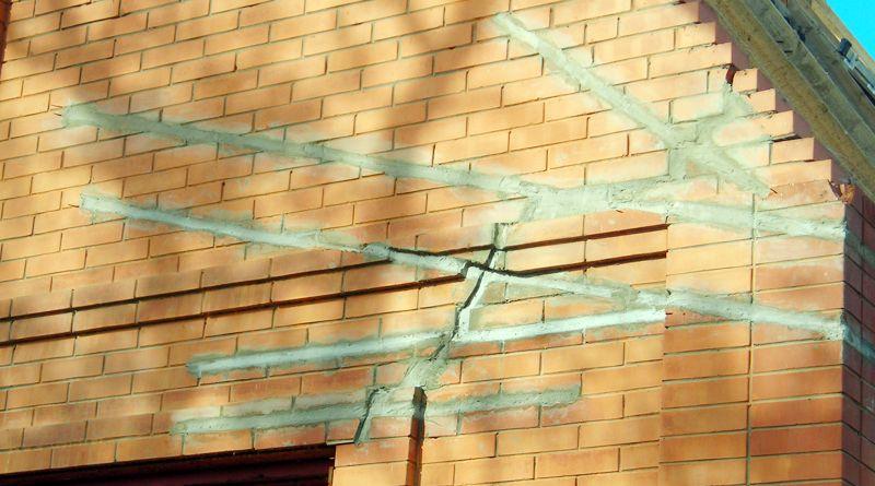 Трещины в стенах: причины, виды, особенности заделки