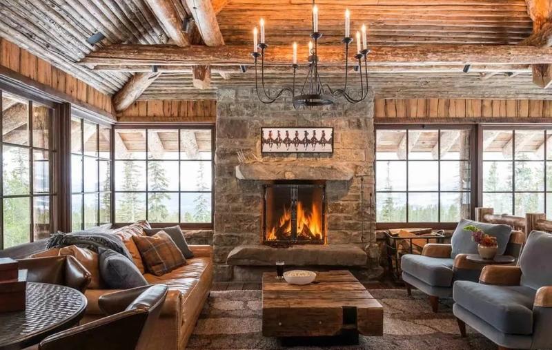 Альпийский стиль шале в интерьере (фото): основные черты, выбор мебели