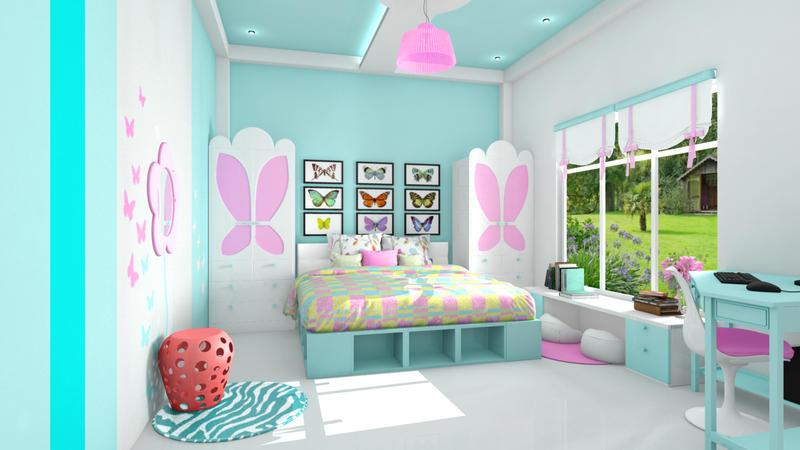 цвет детской комнаты