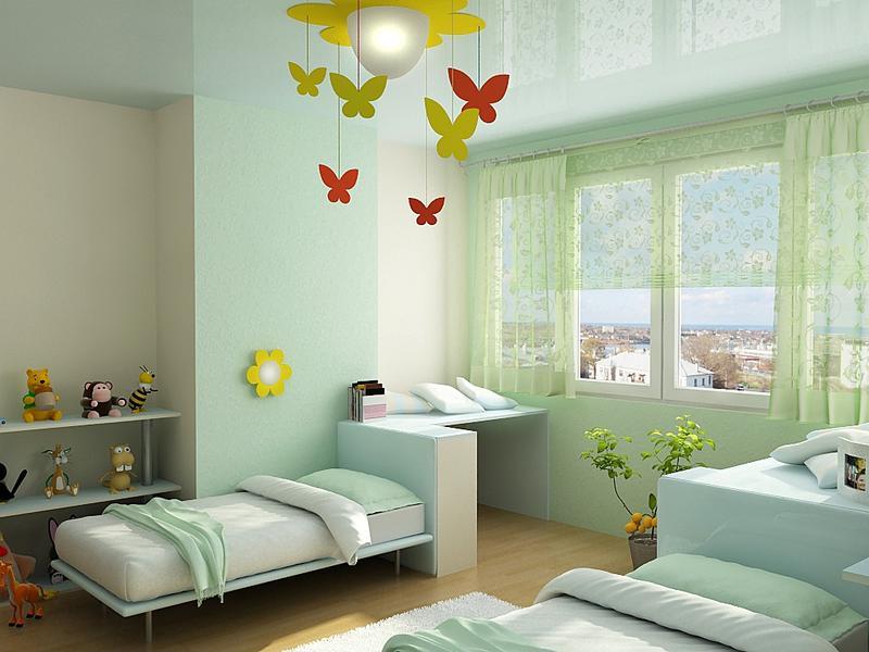 Как выбрать цвет при обустройстве детской комнаты