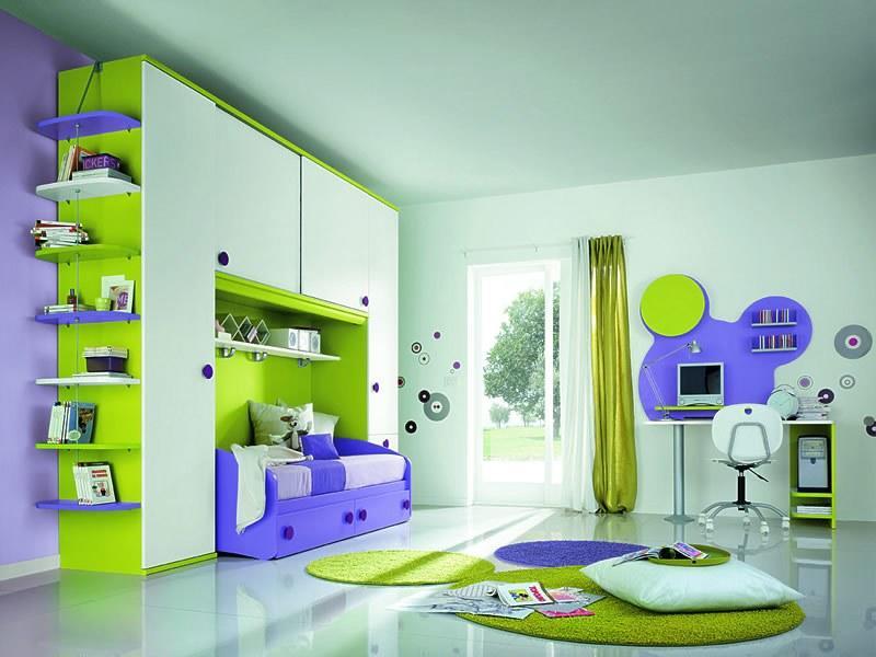 цвет детской комнаты выбор